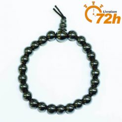 Bracelet Mala Traditionnel en Hématite