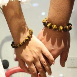 bracelet oeil de tigre homme et femme