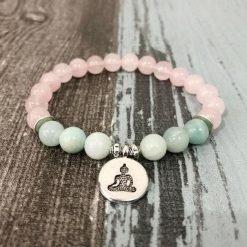 bracelet-bouddhiste-femme-pierre-quartz-rose-amazonite-pendentif-bouddha