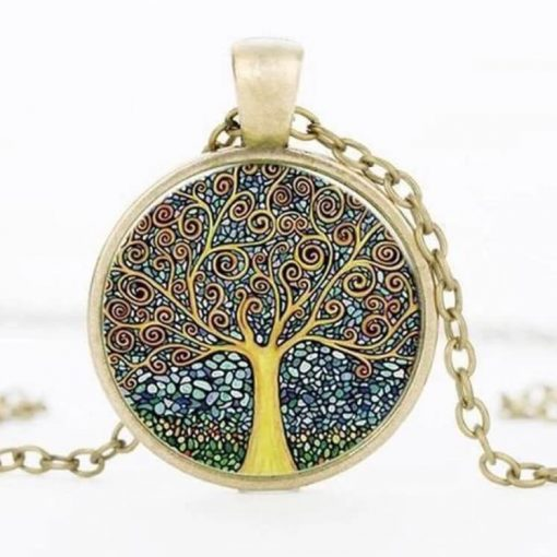Collier Arbre de Vie or