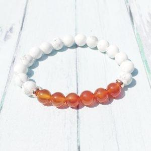 bracelet-pierre-cornaline-howlite